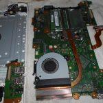 練馬区パソコン修理事例 パソコンに水をこぼした